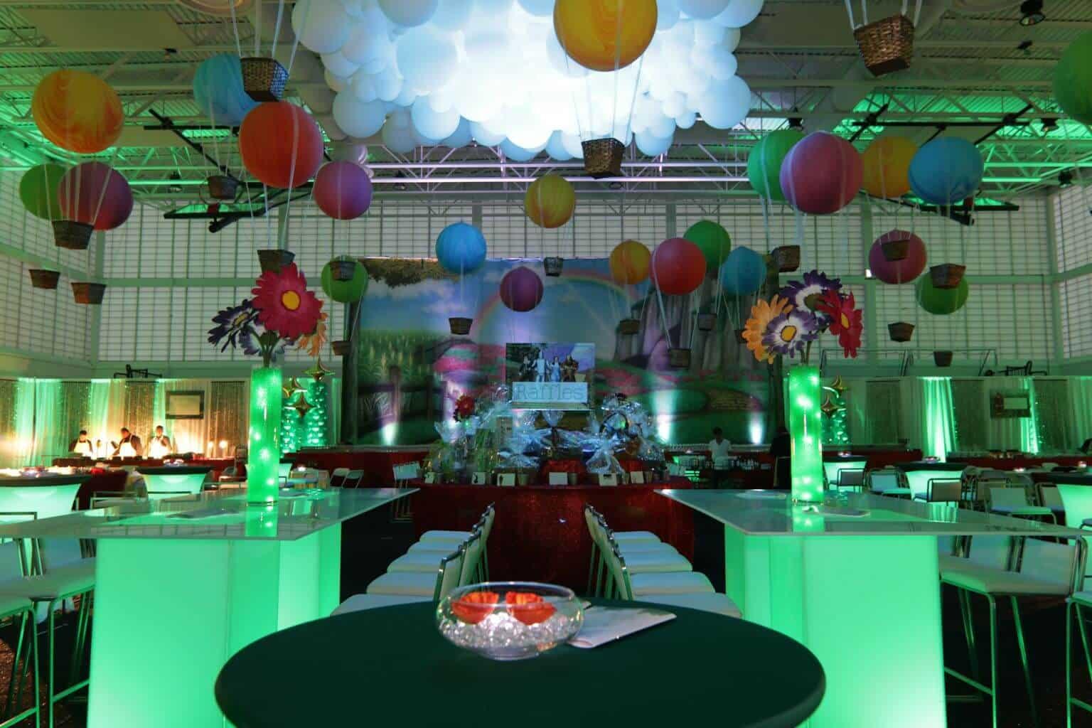 Party decor gallery · balloon artistry