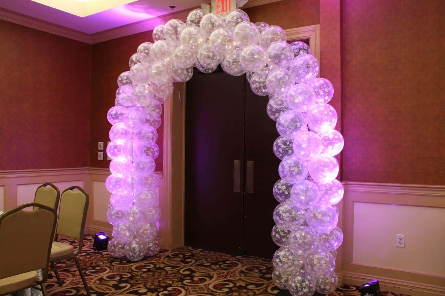 Sports Themed Balloon Decor Balloon Arches Columns Balloon Artistry