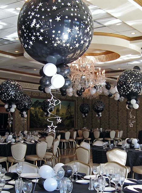 Balloon centerpieces balloon artistry for 7 star balloon decoration