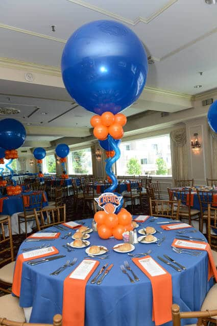Blue Balloon Centerpiece : Images tagged quot basketball balloon artistry