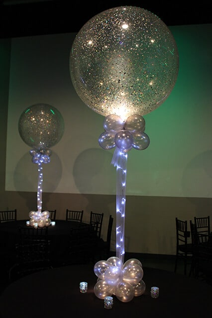 Images tagged sparkle balloon balloon artistry for Balloons arrangement decoration