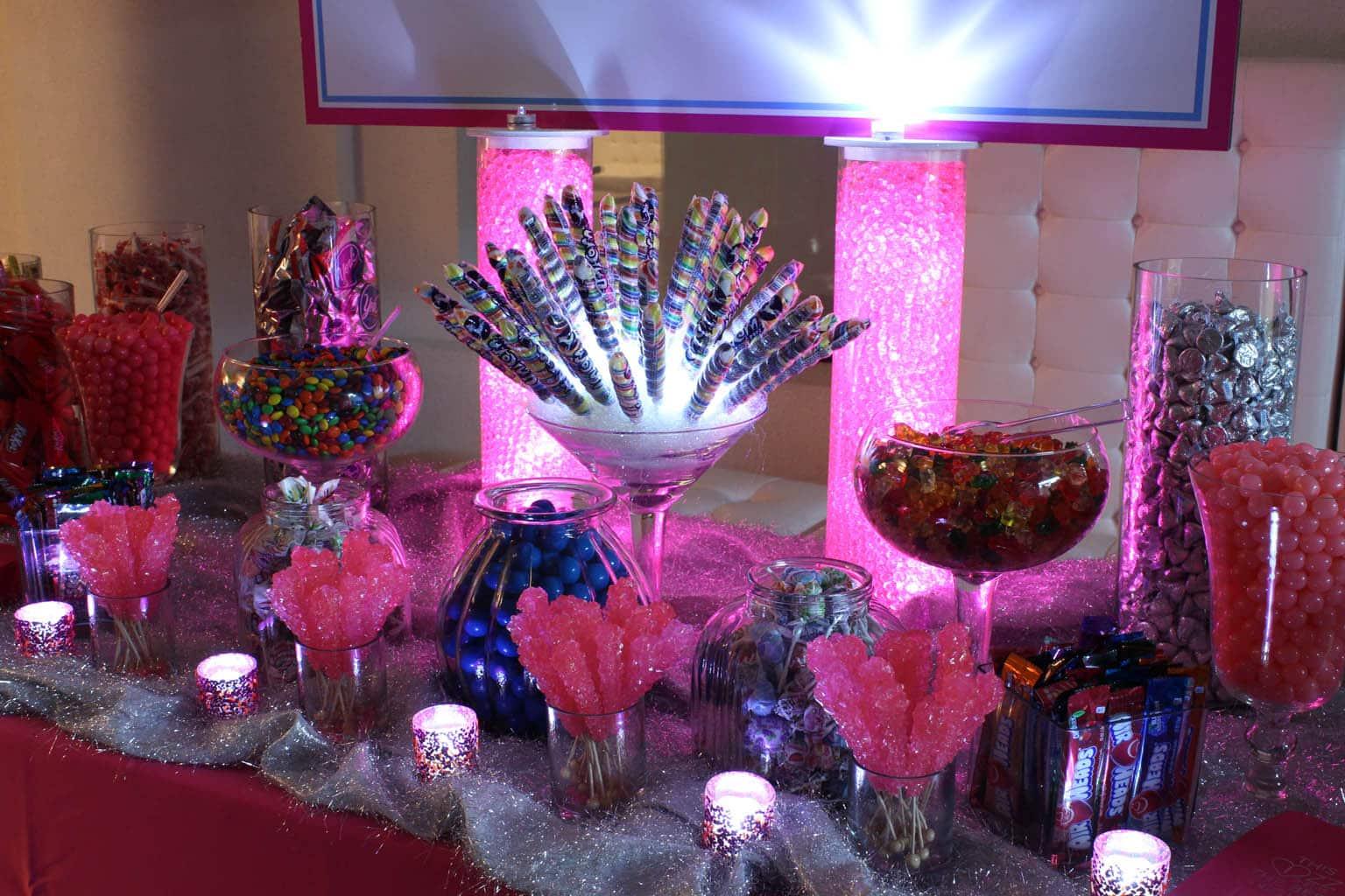 Candy bars balloon artistry