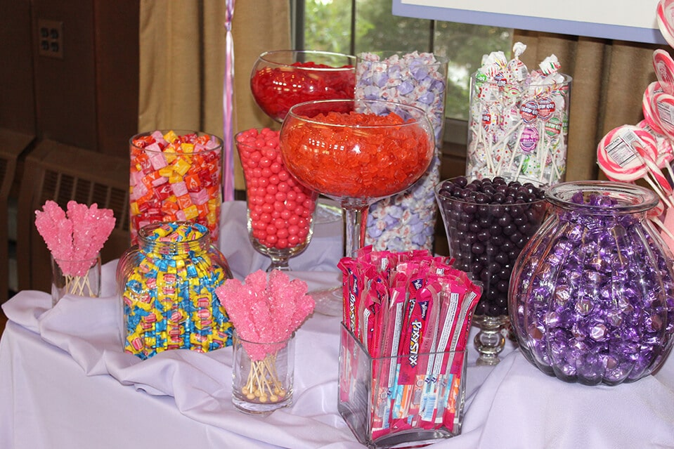 First Birthday Custom Candy Bar Setup