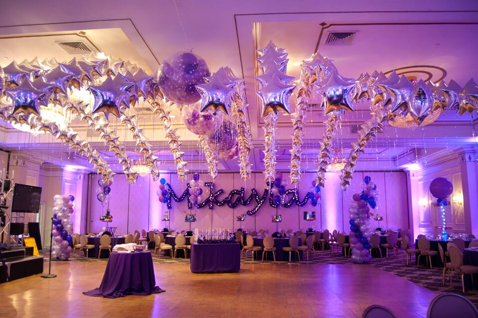 Dance floor decor balloon artistry for Balloon dance floor decoration