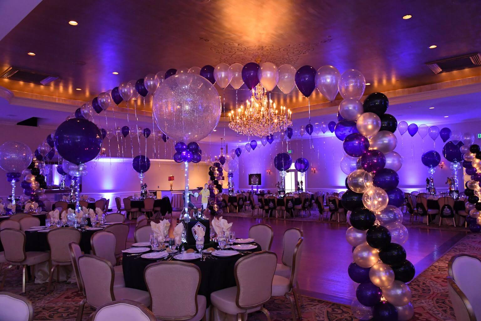Sports Themed Balloon Decor Our Gallery Balloon Artistry