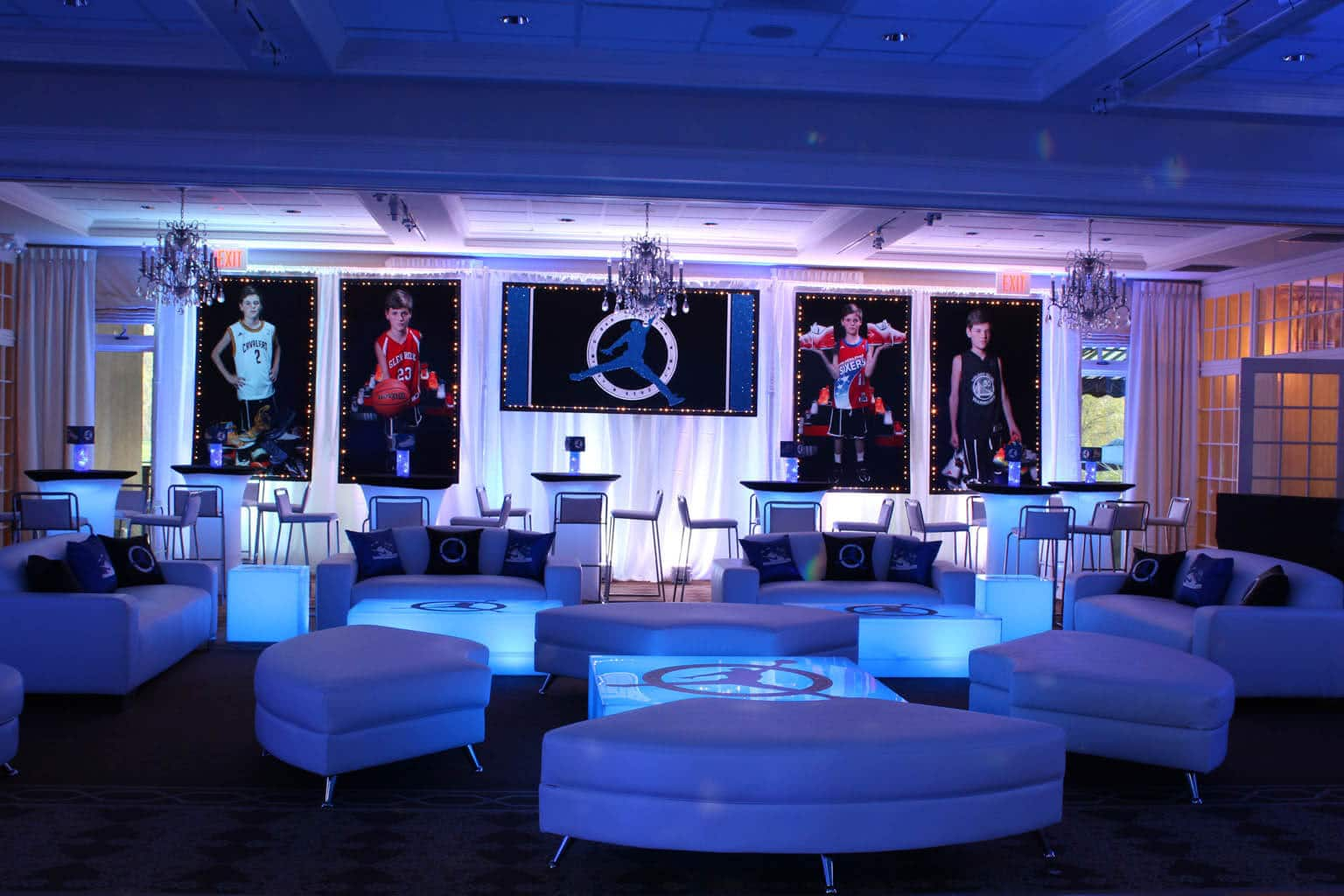 opus furniture led los party event rentals angelesled