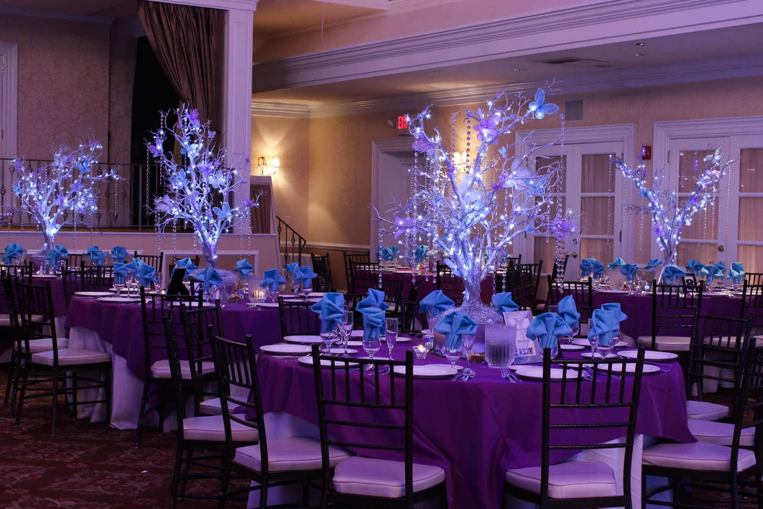 Erfly Tree Centerpieces