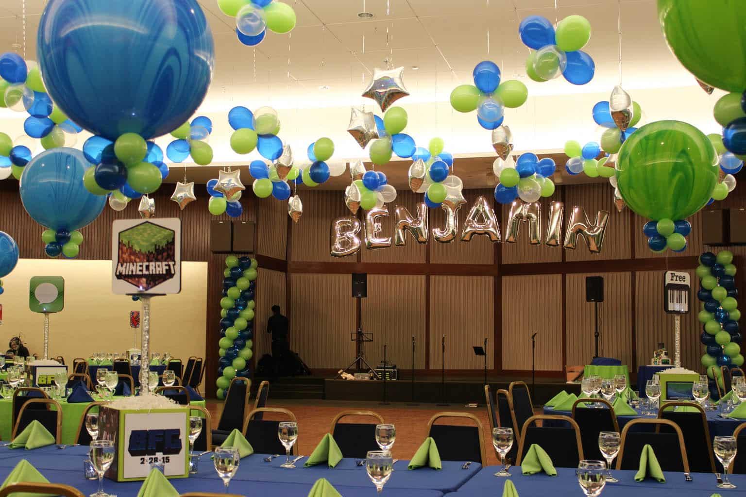 Mylar names in balloons balloon artistry