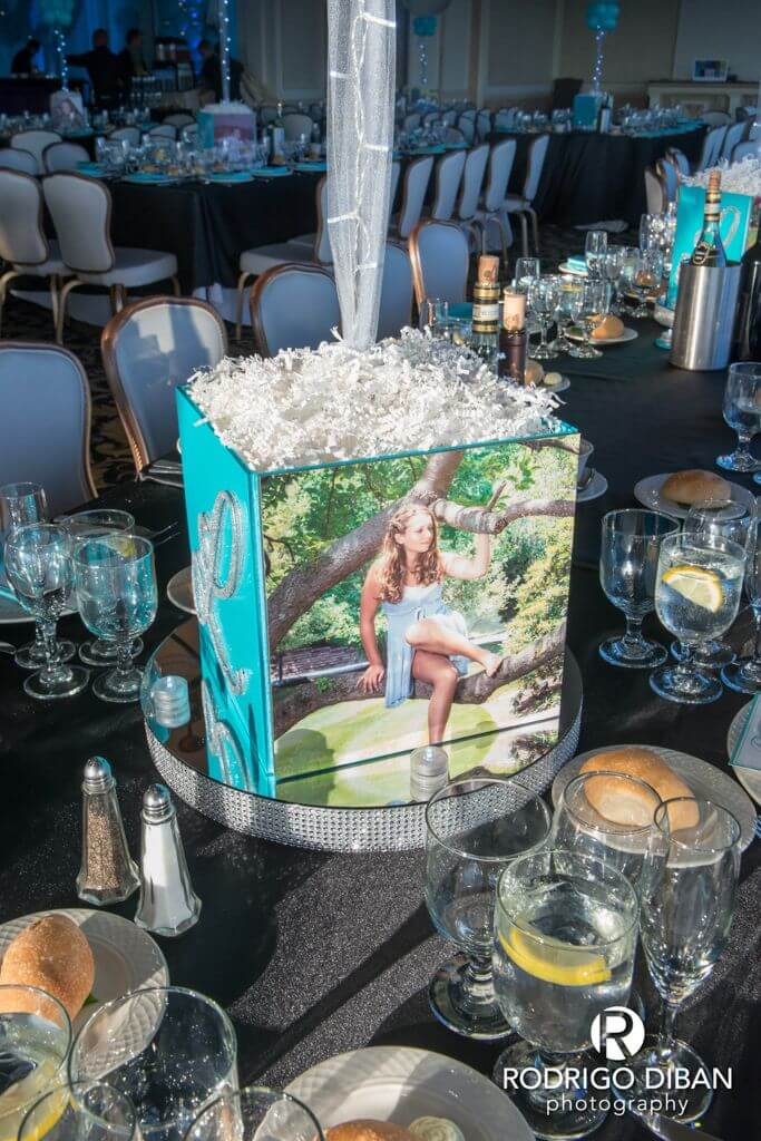 photo cube centerpieces  u00b7 party  u0026 event decor  u00b7 balloon