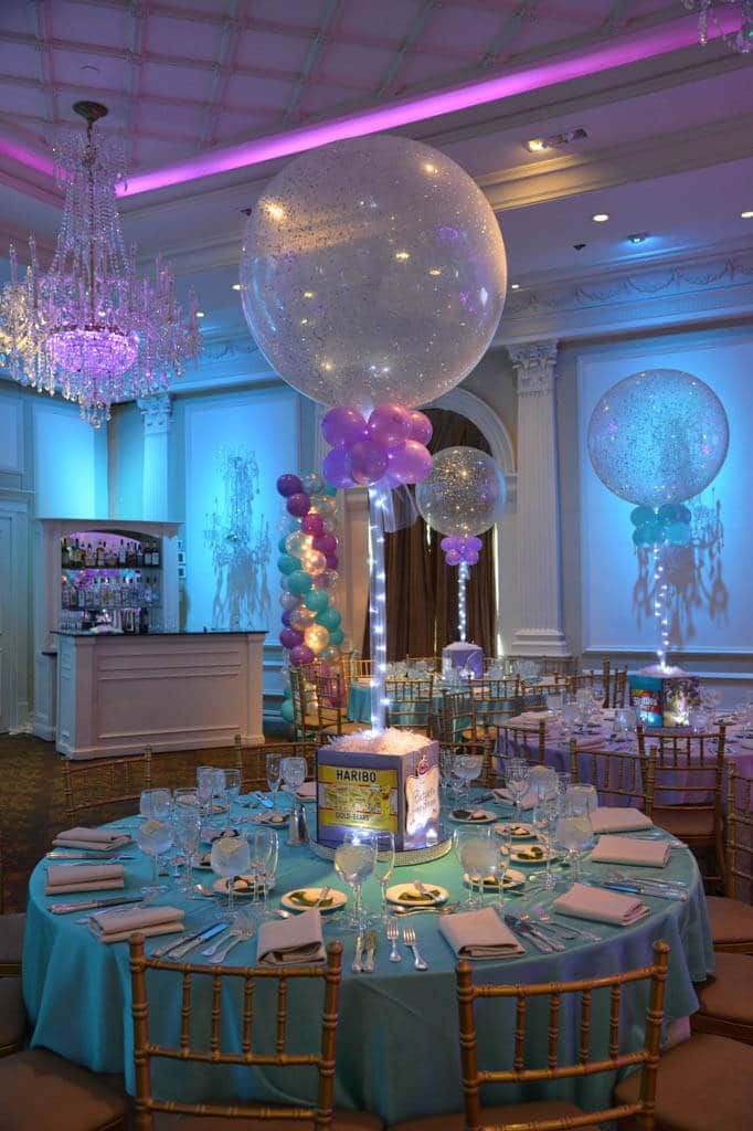 Photo Cube Centerpieces Balloon Artistry