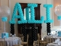 Tiffany Name in Balloons
