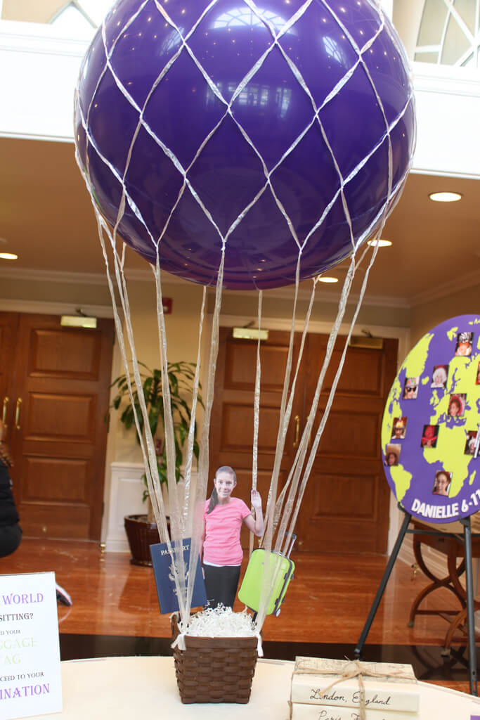 Themed centerpieces · party event decor balloon artistry