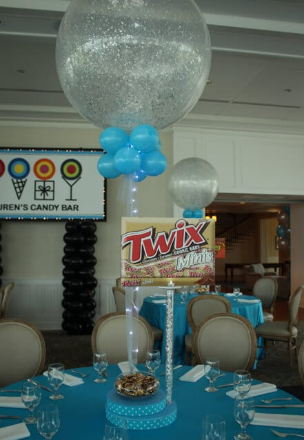 Images tagged quot candy themed bat mitzvah balloon artistry