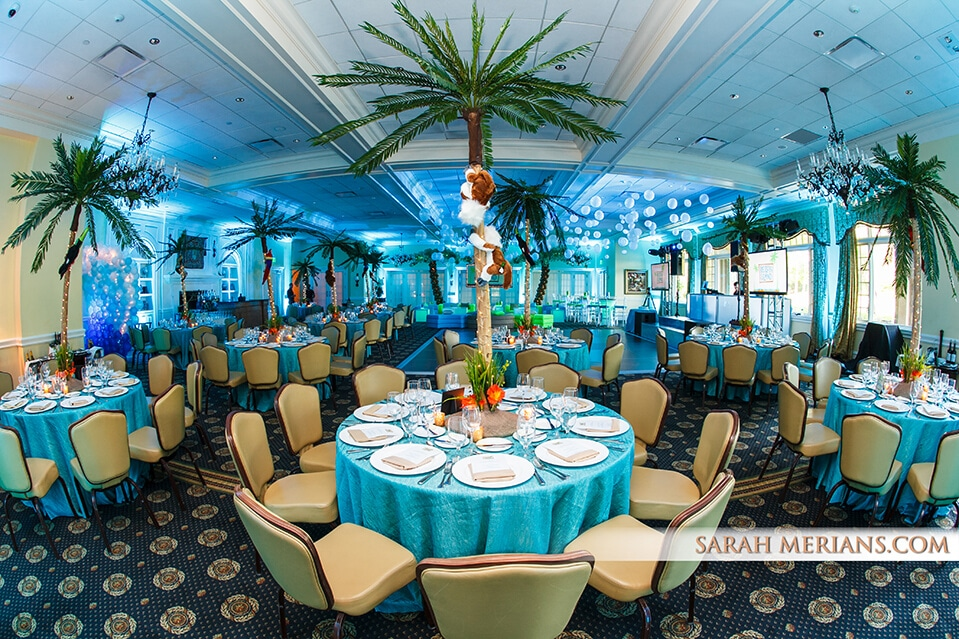 Tropical Palm Tree Centerpiece - Images Tagged