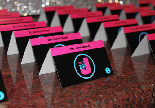 Logo Place Cards